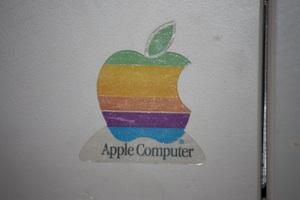 autocollant: ancien logo d'Apple